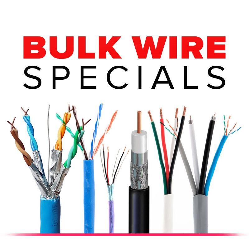 Bulk Wire Specials