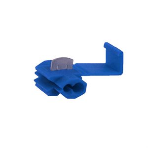 Toolbox T-Tap Double Blade Adapters (blue, 100 pk)