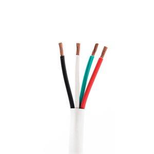 ICE 14 / 4 Plenum Wire 500' Spool (white)