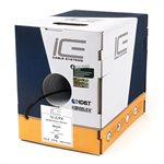 ICE 16 / 2FX Direct Burial Speaker Wire 500' Box (black)