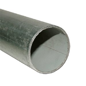 "U.S. Wholesale Pipe 2""x6' 16ga Galvanized Pole"