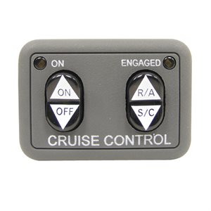 Rostra Universal Dash Mount Cruise Control Switch with LED