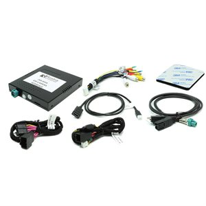 Rostra LCD Multi-Camera Video Interface for Select GM's w / IO5&IO6 Radio