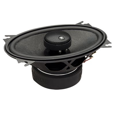 "PowerBass 4""x6"" Full-Range Coaxial Speakers (pair)"