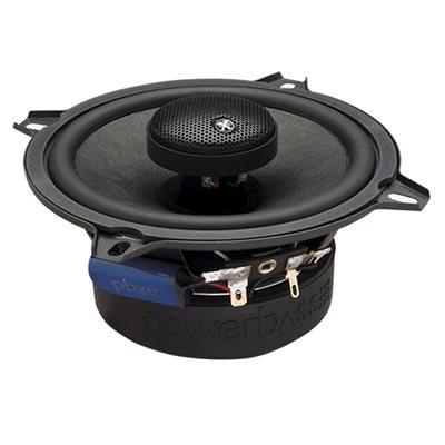"PowerBass 5.25"" Full-Range Coaxial Speakers (pair)"