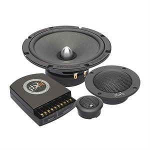 "PowerBass 6.5"" 3-Way Component System"