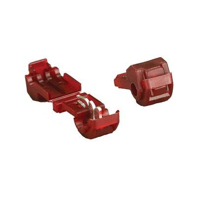 Install Bay 22-18 ga 3M T-Tap (red, 100 pk)