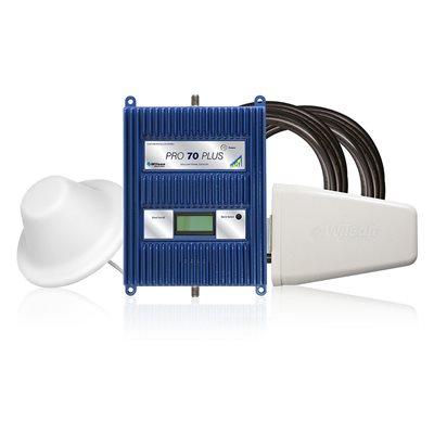 WilsonPro 70 Plus 75 Ohm Kit with Yagi / Dome Antenna