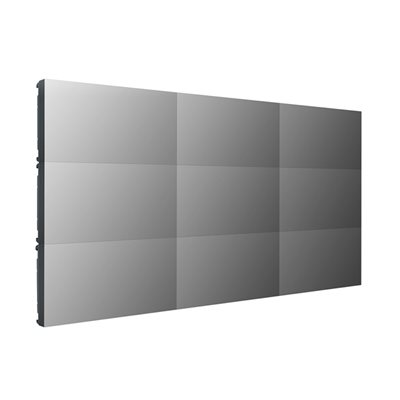 """LG Commercial 55"""" .44mm Bezel 3x3 Video Wall w / Peerless mounts"""