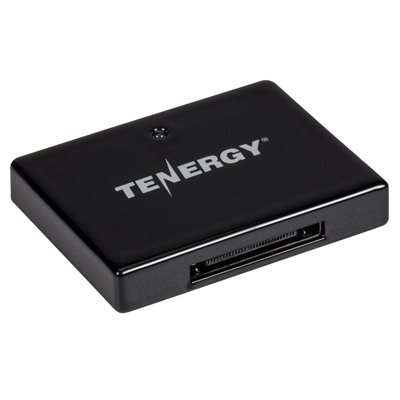 Tenergy Apple 30-Pin Dock Connect / Mini Bluetooth Receiver