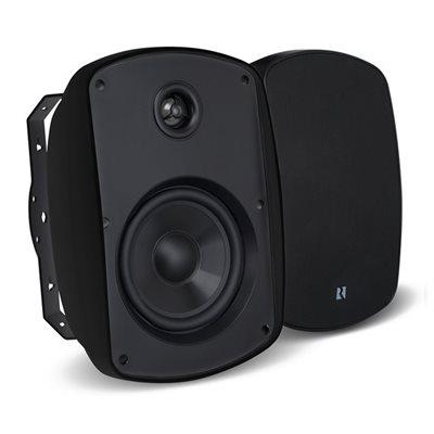 """Russound 4"""" Outdoor 2-Way Loudspeakers (black, pair)"""