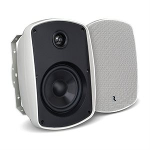 "Russound 5.25"" Outdoor 2-Way Loudspeakers (white, pair)"