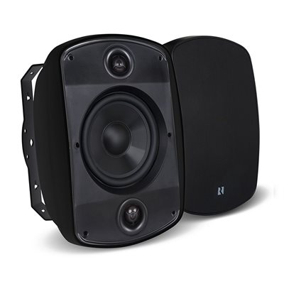 "Russound 6.5"" Outdoor Stereo Loudpeaker (black, single)"