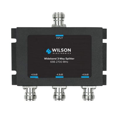 weBoost 3-Way -4.8dB 700–2300MHz Splitter with N-Female