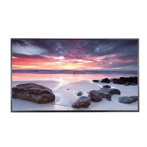 "LG Commercial 86"" UHD Digital Signage w /  Split-Screen Functionality"