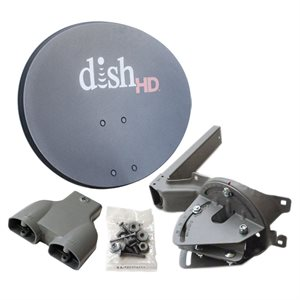 DISH D500 Single Antenna Assembly (metal only, no LNB)