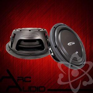 "ARC Audio A-Series Flat 10"" Subwoofer, Dual 2-Ohm, 500W Peak, 250W RMS"