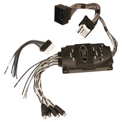 PAC 2010+ GM Amplifier Integration Interface