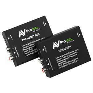AVPro Edge Stereo / Digital Audio 130m Extender over CAT5e bui