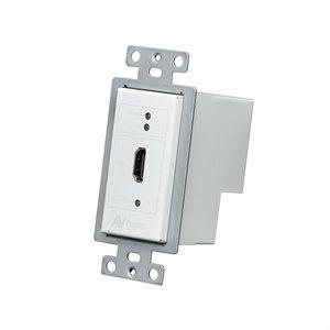 AVPro Edge ConferX HDMI Wall Plate Transmitter Via HDBaseT