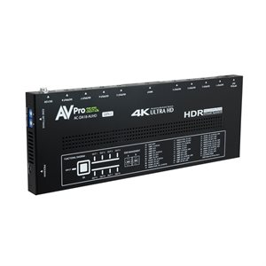 AVPro Edge 18Gbps 1x8 Distribution Amp w /  Advanced EDID Mgmt