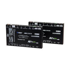 AVPro Edge Ultra Slim 18Gbps 100M 4K60 4:4:4 HDR BaseT Exten