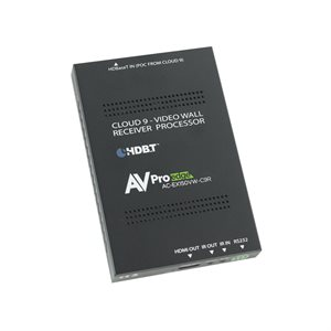 AVPro 150M Video Wall Cloud 9 Receiver. IR & RS232 Pass-Thru