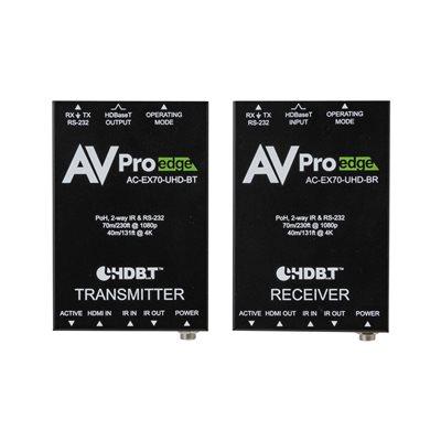 AVPro Edge 70m HDMI via HDBaseT Receiver Over Single CAT-6a /