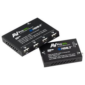 AVPro Edge USB 2.0 via HDBaseT 100 Meter Extender