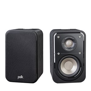 Polk S10 Compact Satellite Speaker (black walnut - pair)