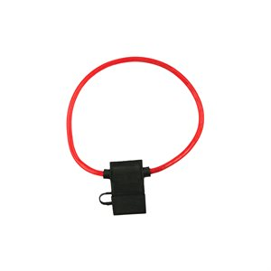Install Bay 12 ga ATC Fuse Holder with Cover (10 pk)