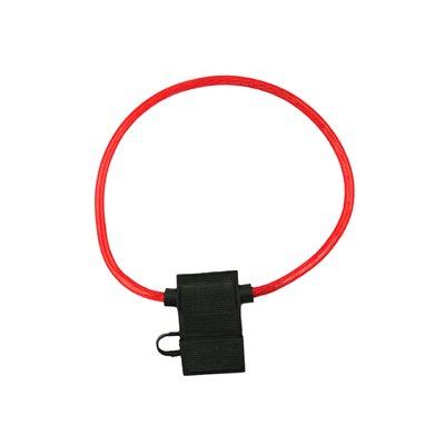 Install Bay 16 ga ATC Fuse Holder with Cover (10 pk)