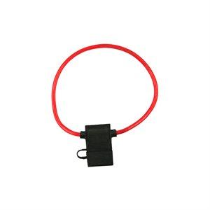 Install Bay 18 ga ATC Fuse Holder with Cover (10 pk)