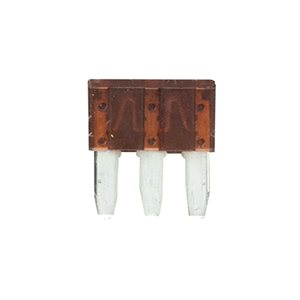 Metra 5 Amps ATL Dual Circuit 3-Prong Micro Fuses (5 pk)