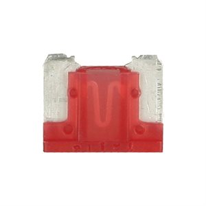 Install Bay 10 Amps Mini Low-Profile Fuses (25 pk)