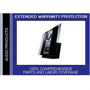 CPS 2 Year Audio Component Warranty - Under $1,000