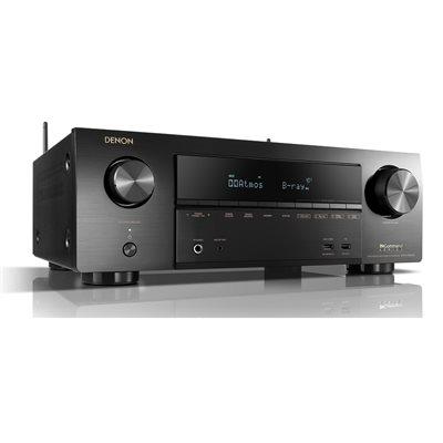 Denon 7.2CH 80W 4K Ultra HD AV Receiver w /  3D Audio & HEOS Built-in