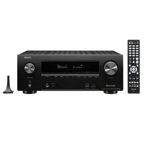 Denon 7.2CH 95W 4K Ultra HD AV Receiver w /  3D Audio & HEOS Built-in