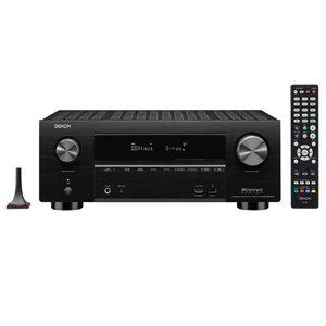 Denon 9.2CH 4K AV Receiver w /  3D Audio and Heos Built-In