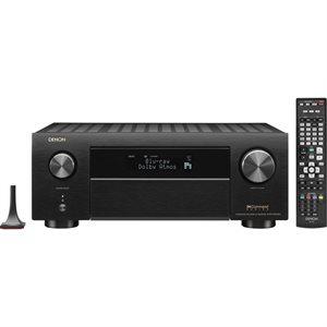 Denon 9.2 Ch. 4K A / V Receiver w / HEOS / BT / Dolby Atmos / Alexa