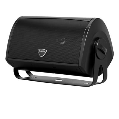 Def Tech Indoor / Outdoor Loudspeaker w / Bracket (black)(single)