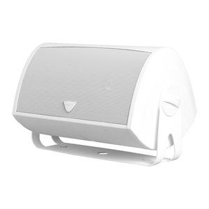 Def Tech Indoor / Outdoor Loudspeaker w / Bracket (white)(single