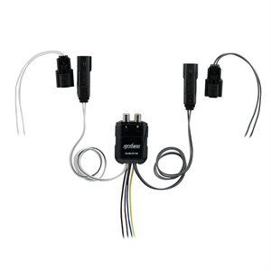 Axxess Harley 14-18 Mini 80 Watt 2 Channel Line Output Converter