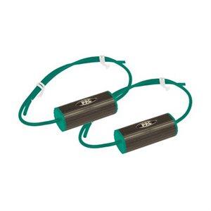 """PAC 6"""" Speaker Bass Blocker (green, pair)"""