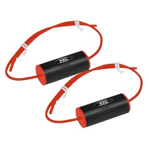 "PAC 3.5"" 4–8 Ohm Bass Blocker (red, pair)"