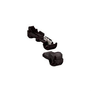 Install Bay 24-26 ga Displacement Connector (black, 100 pk)