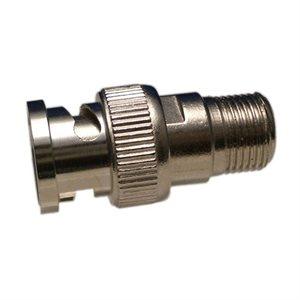 ZUUM BNC Male / F-Female Nickel Adapter (10 pk)