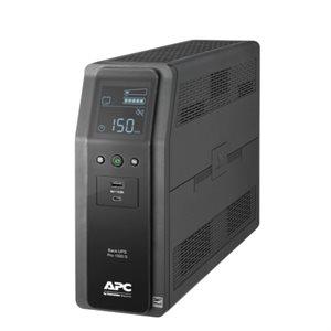 APC Back UPS PRO 1500VA, Sinewave, 10 outlets, 2 USB Charging ports