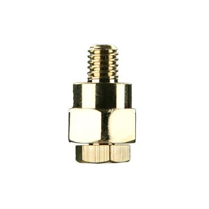 Install Bay Battery Side Post Adapter (brass, 10 pk)