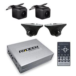 Rydeen 4 Channel Blind Spot DVR System